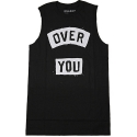 유에스에이 머친다이징(U.S.A MERCHANDISING) USAHMMERCHANDISING OVER YOU MUSCLE TEE (BLACK)