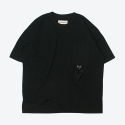 프랭크 도미닉(FRANK DOMINIC) FEATHER OVERSIZE T-SHIRT(BLACK)