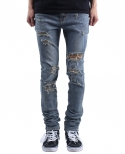 플레임 플라워(FLAME FLOWER) DISTRESSED JEANS