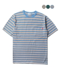 에이테일러(A-TAILOR) Pocket stripe T-shirt