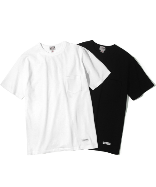 커버낫(COVERNAT) STANDARD POCKET T-SHIRTS 2 PACK