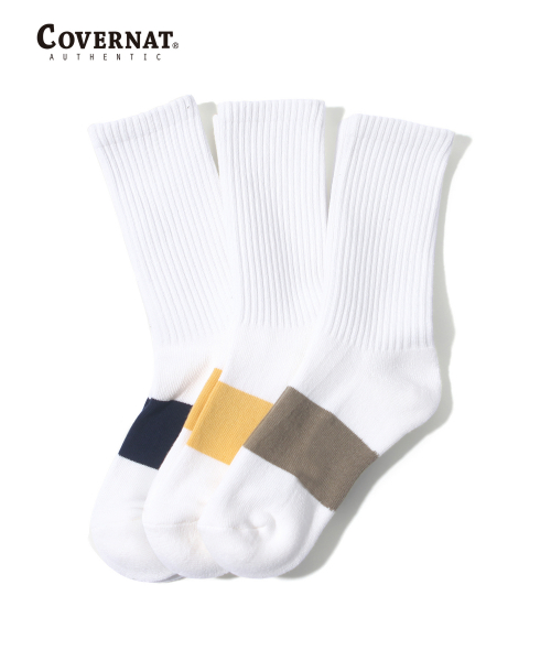 커버낫(COVERNAT) STANDARD SOCKS 3 PACK