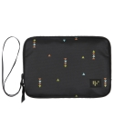 FAMILY PASSPORT POUCH HOLA_Black