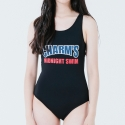 참스(CHARM'S) Solid Swimsuit BLACK