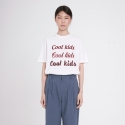 벰버(VEM.VER) COOL KIDS HALF SLEEVES TOP_WH