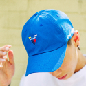 본챔스(BORN CHAMPS) V SYMBOL CAP BLUE