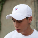본챔스(BORN CHAMPS) V SYMBOL CAP WHITE