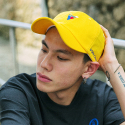 본챔스(BORN CHAMPS) V SYMBOL CAP YELLOW