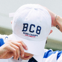 본챔스(BORN CHAMPS) BC 8 CAP WHITE