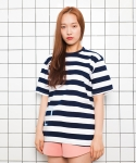 디그래프(D'GRAPH) STRIPE T NAVY