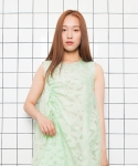 ZIGZAG DRESS MINT