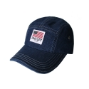 짐커프(JIMCUFF) JIMCUFF USA LOGO TYPE2 DENIM CAMP CAP 진청 J311