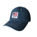 짐커프(JIMCUFF) JIMCUFF USA LOGO TYPE2 DENIM CAP 중청 J306