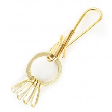 36# `SOLIDBRASS` KEY RING