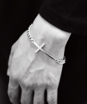 셉텐벌5(SEPTEMBER5) Main cross bracelet