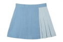 레이시(RACY) DENIM WRAP SKIRT_SKY BLUE