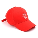 슈퍼비젼(SUPERVISION) LOVEGIRLS BALLCAP RED - [MU]