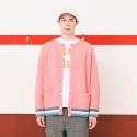 BACKNUMBER CARDIGAN(PINK)