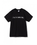 [원아이클로즈드] WON I CLOSED / OVERFLOW HALF SLEEVE T-SHIRT / BLACK