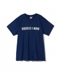 원 아이 클로즈드(WON I CLOSED) [원아이클로즈드] WON I CLOSED / X-RAY VISION HALF SLEEVE T-SHIRT / NAVY