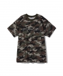 원 아이 클로즈드(WON I CLOSED) [원아이클로즈드] WON I CLOSED / I AM A  HALF SLEEVE T-SHIRT / CAMO