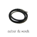 BOLD DOUBLE LEATHER MEN BRACELET
