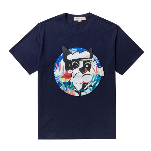 비욘드클로젯_POP-SAILOR DOG PATCH 1/2 TS NAVY