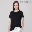메케나(MEKENNA) MeKENNA EMBOED Cotton loose T shirt_MX2Y2TS0190
