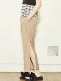 블랭크(BLANK) SLIT WIDE PANTS-BE