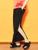 블랭크(BLANK) SLIT WIDE PANTS-BK