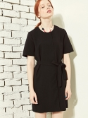 블랭크(BLANK) LAYERED DRESS-BK