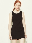 블랭크(BLANK) SIMPLE DRESS-BK