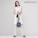 메케나(MEKENNA) MeKENNA Linen blended TWO tuck wide pants_MX2Y2PT0170