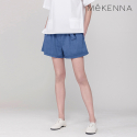메케나(MEKENNA) MeKENNA Belted stripe high waist SHORT pants_MX2Y2PT0210