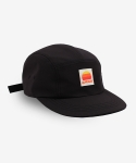 Label Campcap Black