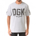 디지케이(DGK) Blood Sweat Tears Tee - Ath Heather