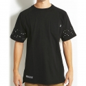 디지케이(DGK) Digi Dot Custom S/S Pocket Tee - Black
