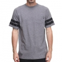 디지케이(DGK) Digi Dot Custom S/S Pocket Tee - Gun Metal Heather