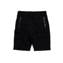 PAXTER HALF SWEAT PANTS (BLACK)