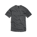 PAXTER PIGMENT DYING T - SHIRT (CHARCOAL GREY)