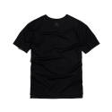 PAXTER 60/2 SILVER EMBROIDERY T - Shirt (BLACK)
