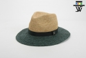 화이트샌즈(WHITESANDS) [화이트샌즈] RAFFIA PHUKERO KIDS HAT DARK GREEN WSK6-002R059