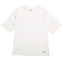 라이크어라이언(LIKE A LION) Oversized Mvs boarder harf sleeve - cream