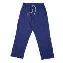 Regular fit 20s chino twill fatigue pants - navy