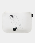FRIENDS POUCH (WHITE)