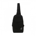 캉골(KANGOL) Angle Sling Bag 1213 Black