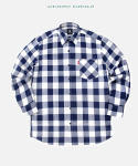 다이아몬드 레이라(DIAMOND LAYLA) LAYLA Gingham check S3 - navy