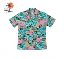 로버트제이씨 하와이(ROBERT J.C HAWAII) Robert J.C Hawaii - 102C.008 Hawaii Shirts [Black]
