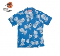 로버트제이씨 하와이(ROBERT J.C HAWAII) Robert J.C Hawaii - 102C.087 Hawaii Shirts [Blue]