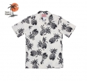 로버트제이씨 하와이(ROBERT J.C HAWAII) Robert J.C Hawaii - 102C.087 Hawaii Shirts [White]